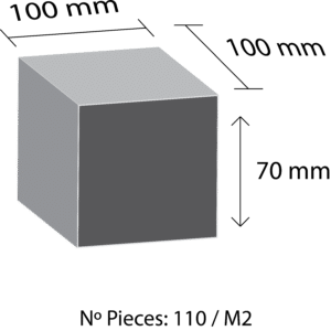 Pave granit Mesure 7x10x10