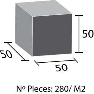 Paves mesure 5x5x5