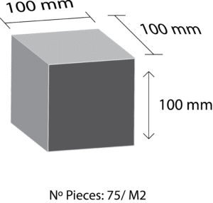 Paves granit mesure 10x10x10